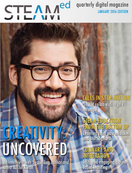 STEAMed Magazine January 2016