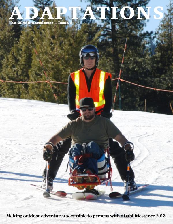 Adaptations: The Central California Adaptive Sports Center Newsletter 3