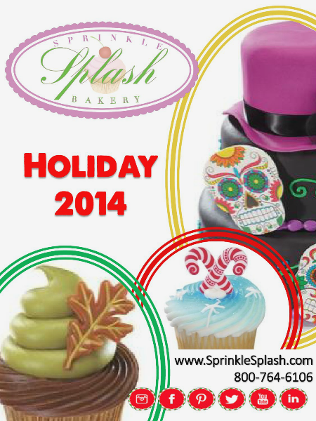 Sprinkle Splash Bakery Holiday Guide 2014