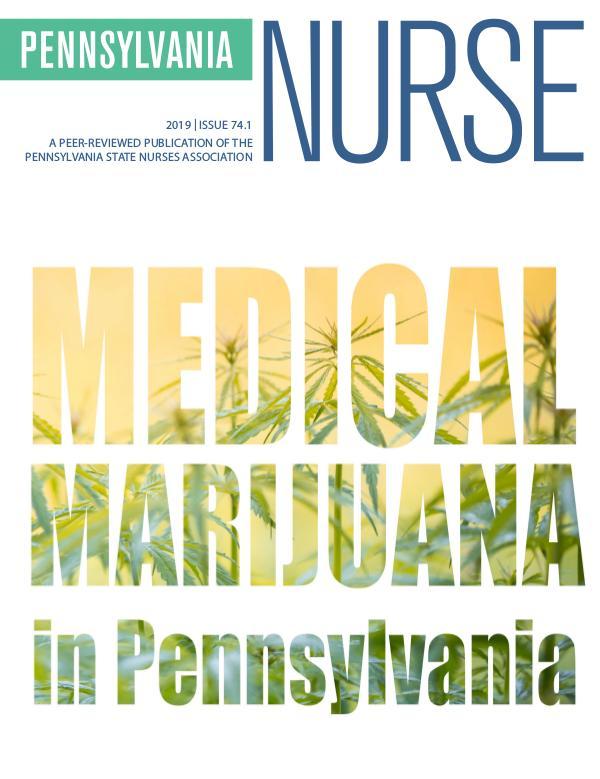 Pennsylvania Nurse 2019 Pennsylvania Nurse 74.1