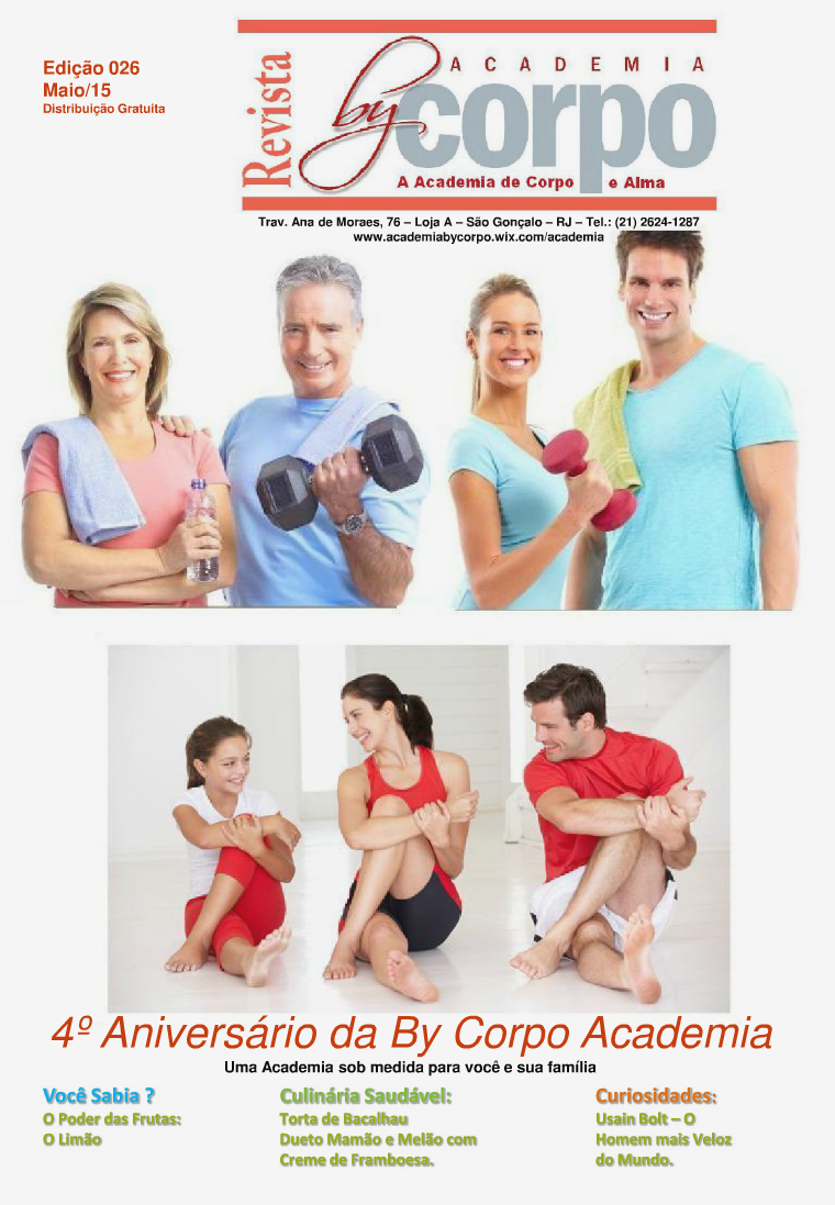 Revista By Corpo - Maio 2015 Revista By Corpo - Maio 2015 - Edição 26