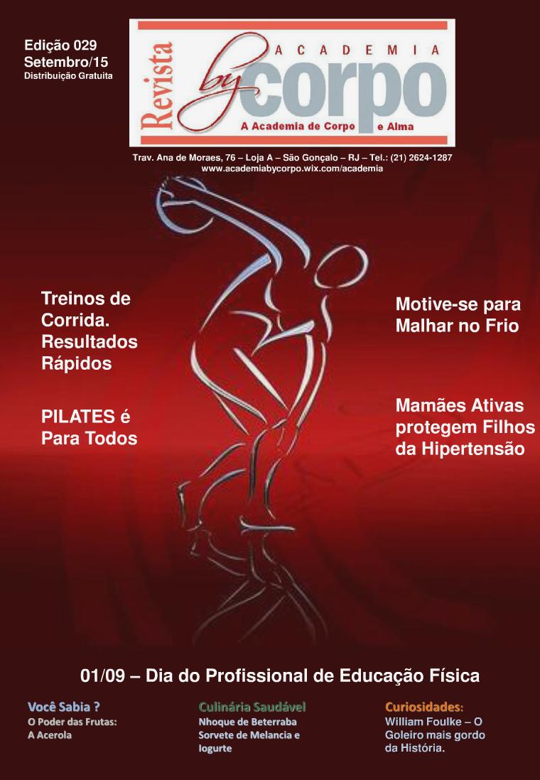 Revista By Corpo Academia - Setembro-2015 Edição 29