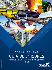 Guía de Emisores Acciones BVC ● Guide of Listed Companies 2014