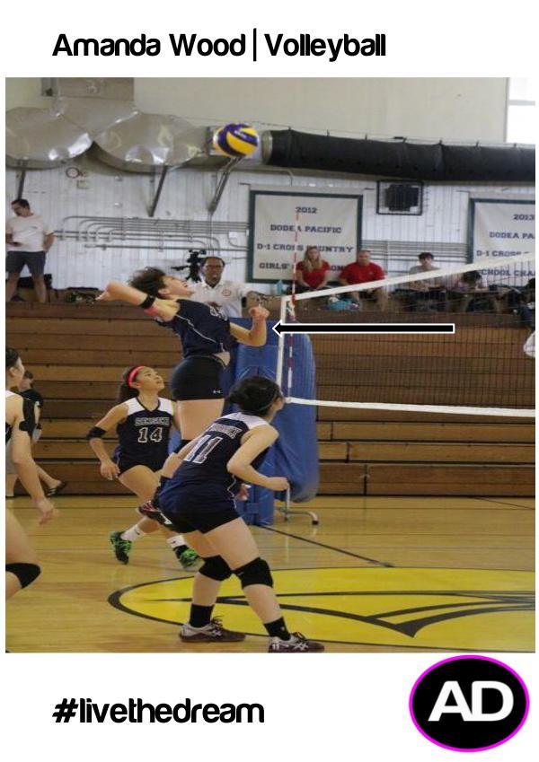 Amanda Wood Volleyball OPP