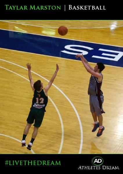 Taylar Marston   Basketball