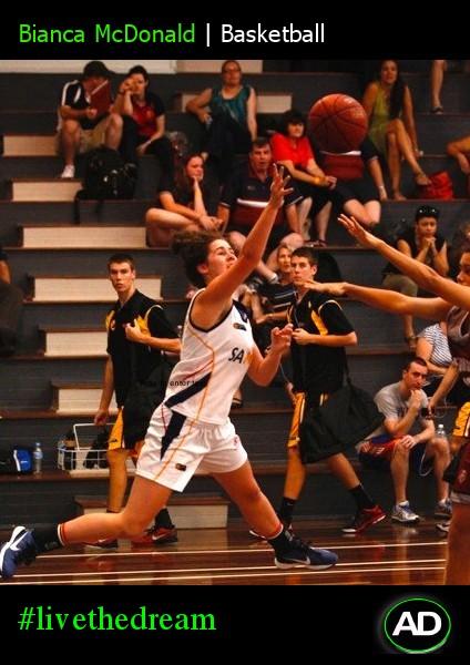 Athletes Dream Bianca Macdonald | Basketball