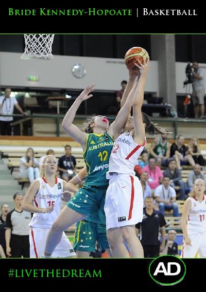 Athletes Dream Bride Kennedy-Hopoate | Basketball