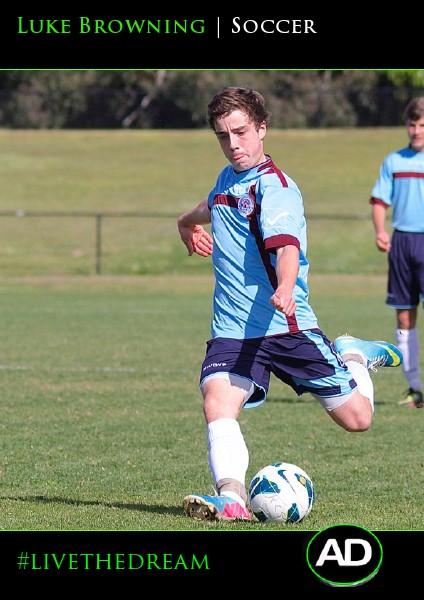 Luke Browning   Soccer