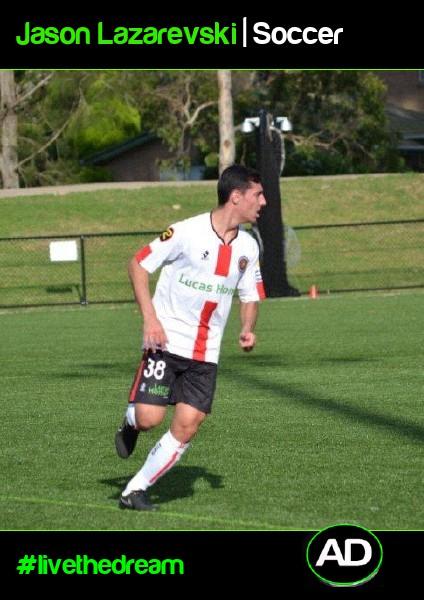 Jason Lazarevski   Soccer