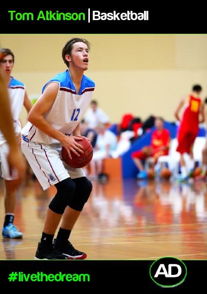 Tom Atkinson   Basketball