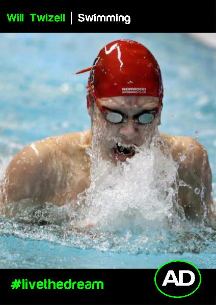 William Twizell | Swimming