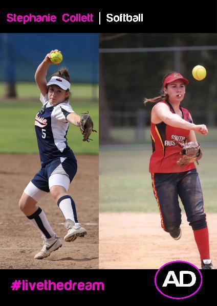 Stephanie Collett   Softball