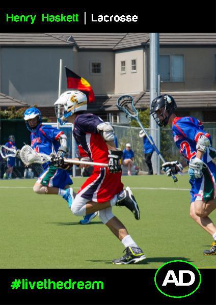 Henry Haskett   Lacrosse