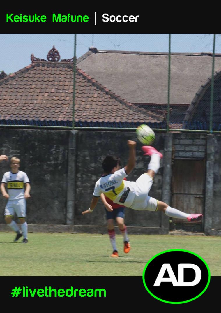 Athletes Dream Keisuke Mafune | Soccer