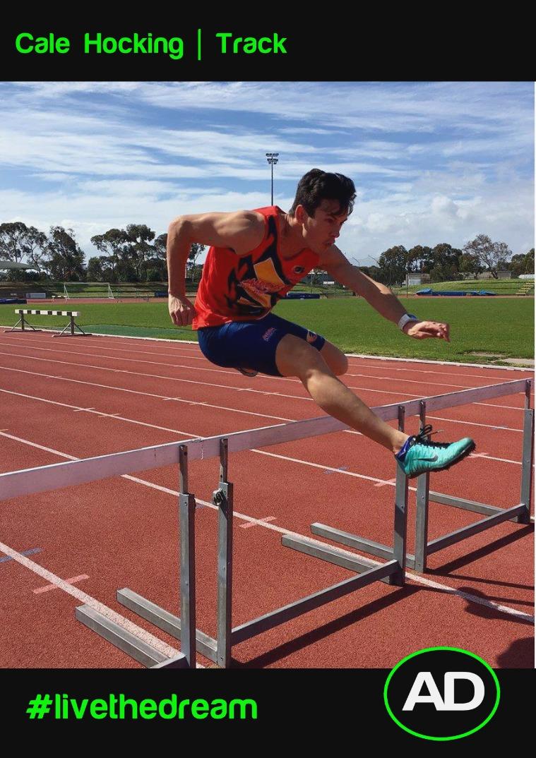 Athletes Dream Cale Hocking | Track