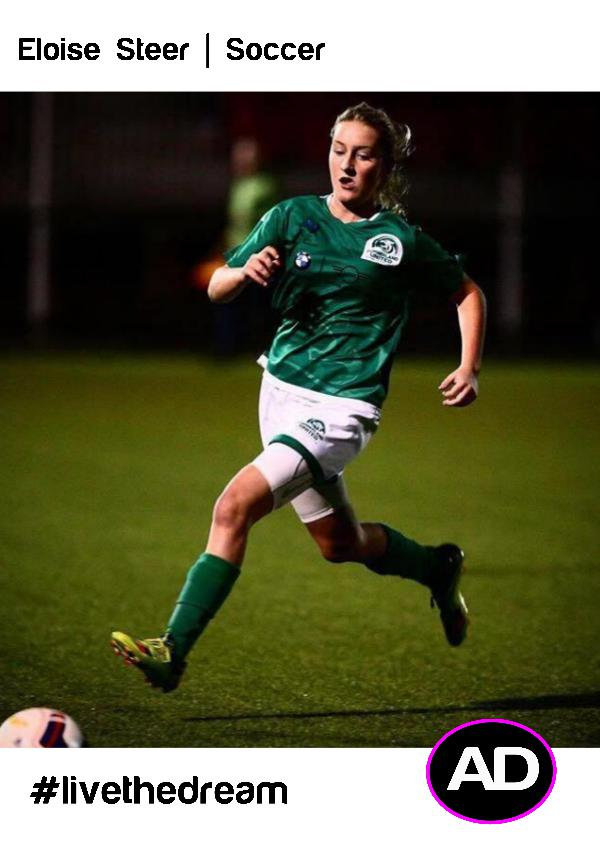 Athletes Dream Eloise Steer | Soccer
