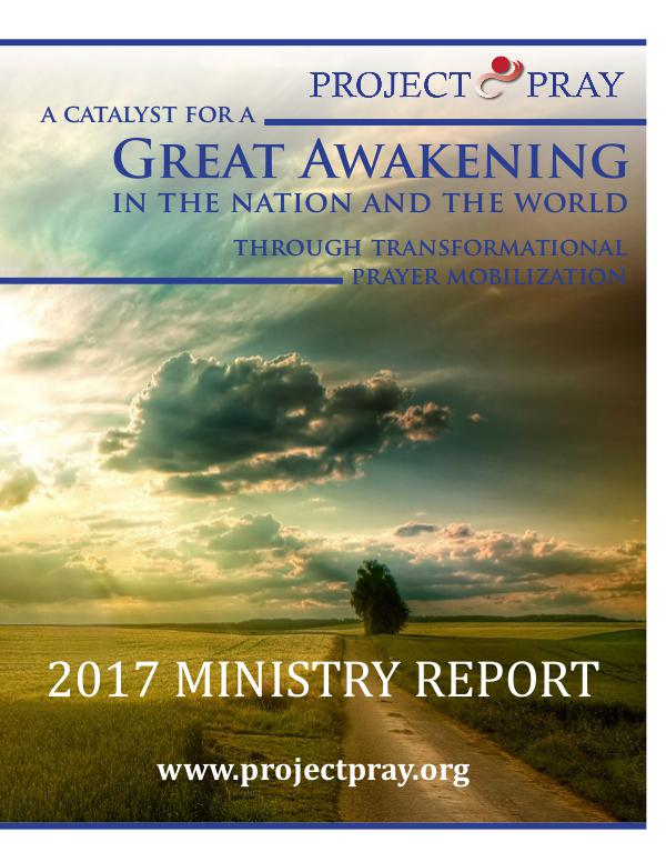 PROJECT PRAY Ministry Report 2017