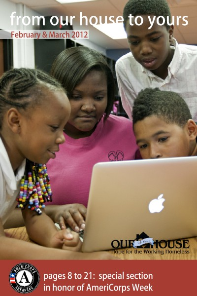 Our House e-newsletter February & March 2012
