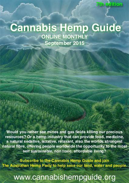 Cannabis Hemp Guide 2015 September