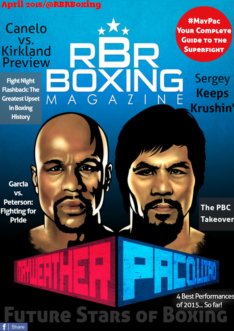 RBRBoxing Magazine Issue 2 - April 2015