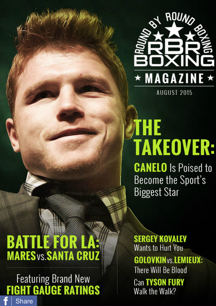 RBRBoxing Magazine Issue 3 Deluxe Edition - August 2015