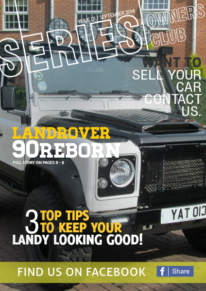 SERIES OWNERS CLUB ISSUE 1