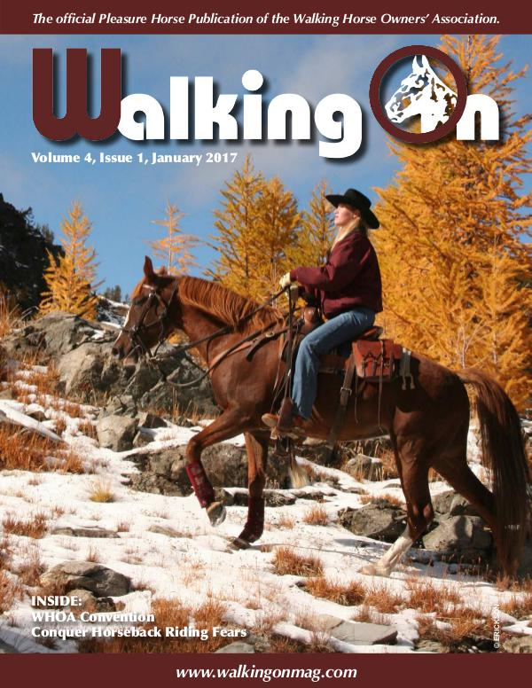 Walking On Volume 4, Issue 1, January 2017