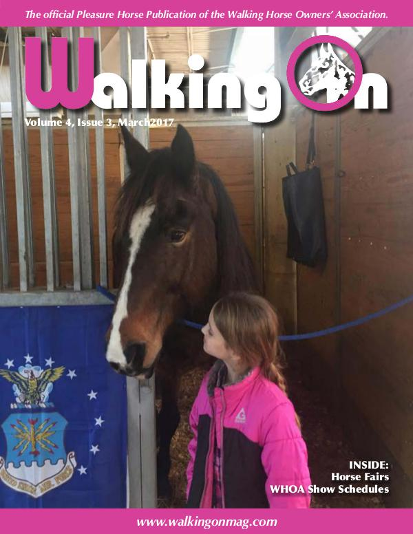 Walking On Volume 4, Issue 3, March 2017