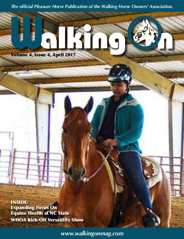 Walking On Volume 4, Issue 4, April 2017