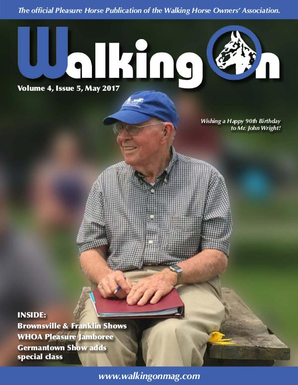 Walking On Volume 4, Issue 5, May 2017