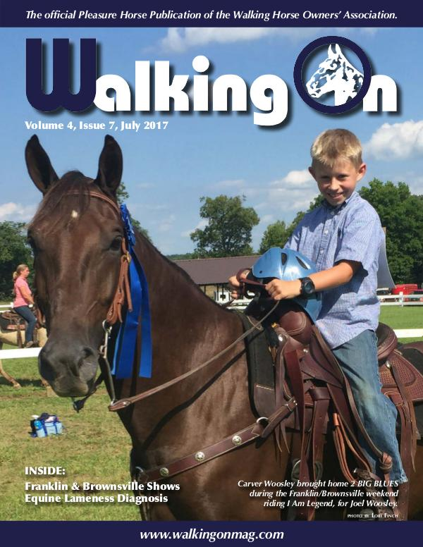 Walking On Volume 4, Issue 7, July 2017