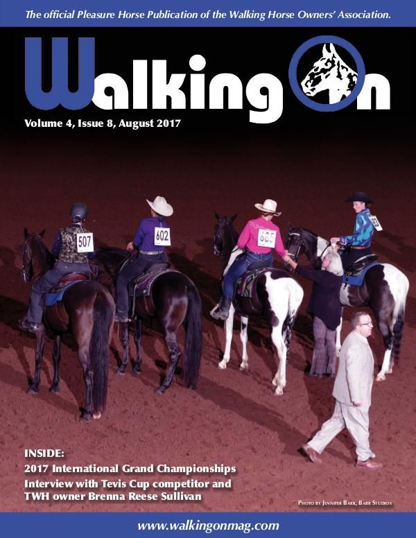 Walking On Volume 4, Issue 8, August 2017