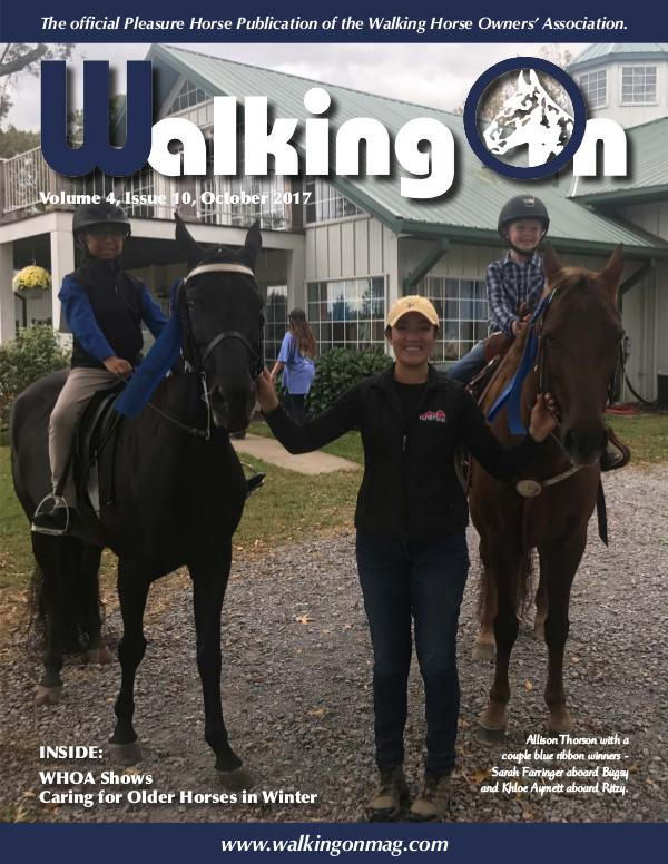 Walking On Volume 4, Issue 10, October 2017