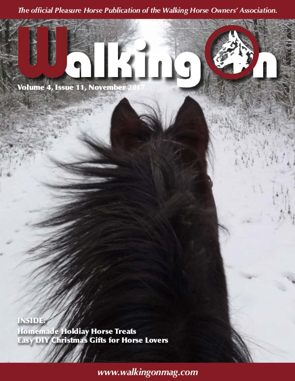 Walking On Volume 4, Issue 11, November 2017