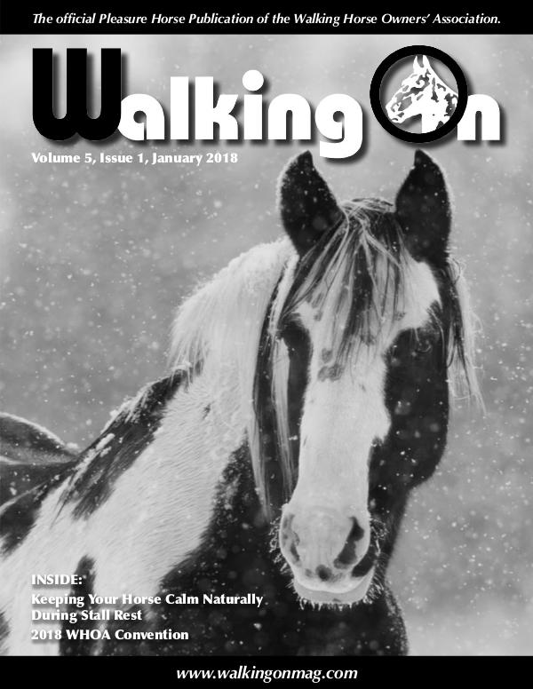 Walking On Volume 5, Issue 1, January 2018