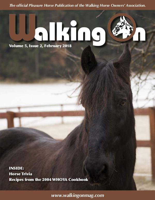 Walking On Volume 5, Issue 2, February 2018