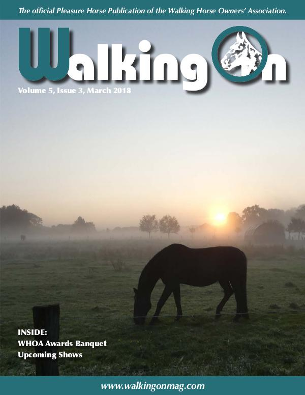 Walking On Volume 5, Issue 3, March 2018