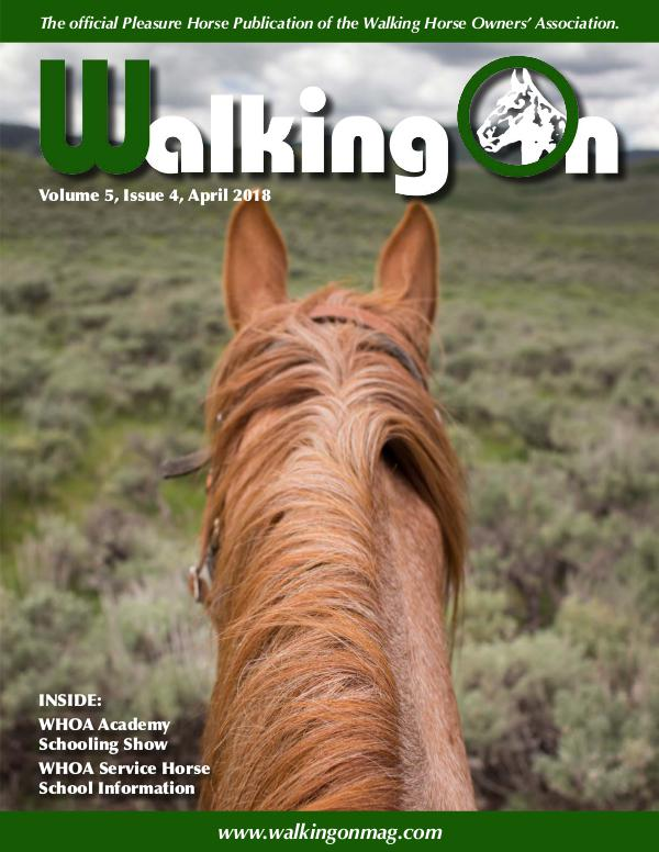 Walking On Volume 5, Issue 4, April 2018