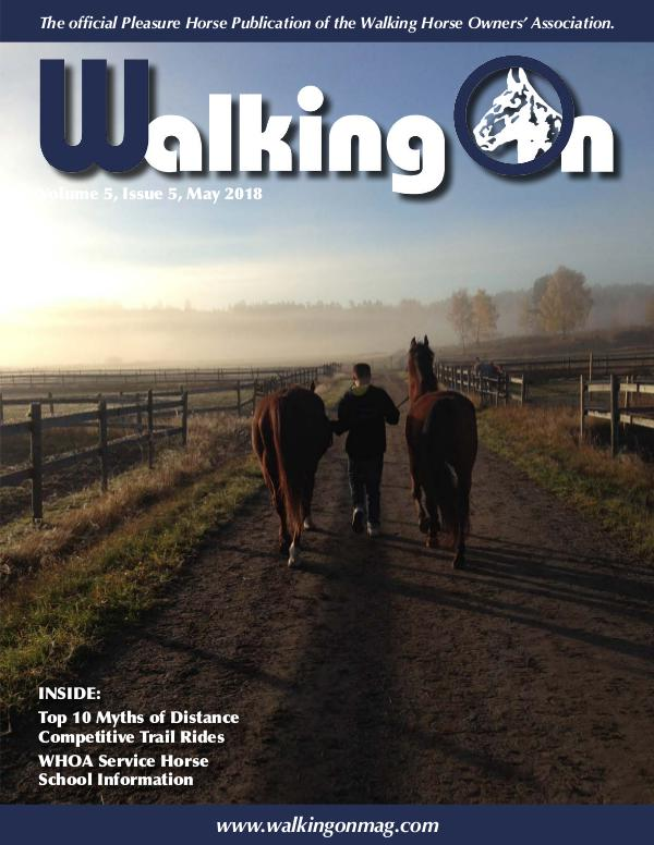Walking On Volume 5, Issue 5, May 2018
