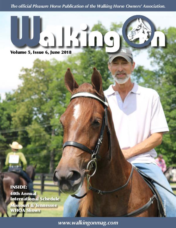 Walking On Volume 5, Issue 6, June 2018