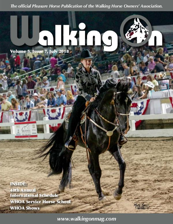Walking On Volume 5, Issue 7, July 2018