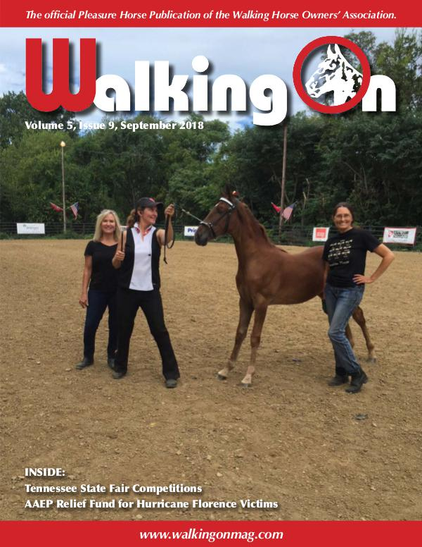Walking On Volume 5, Issue 9, September 2018