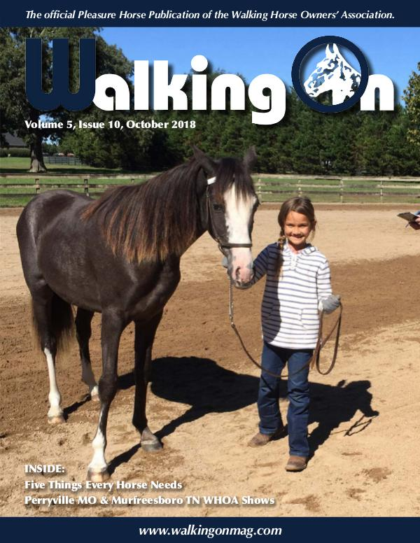 Walking On Volume 5, Issue 10, October 2018