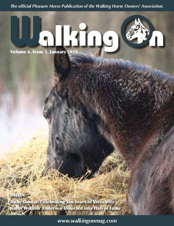 Walking On Volume 6, Issue 1, January 2019