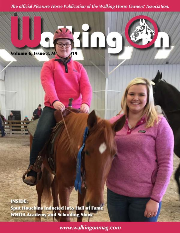 Walking On Volume 6, Issue 3, March 2019