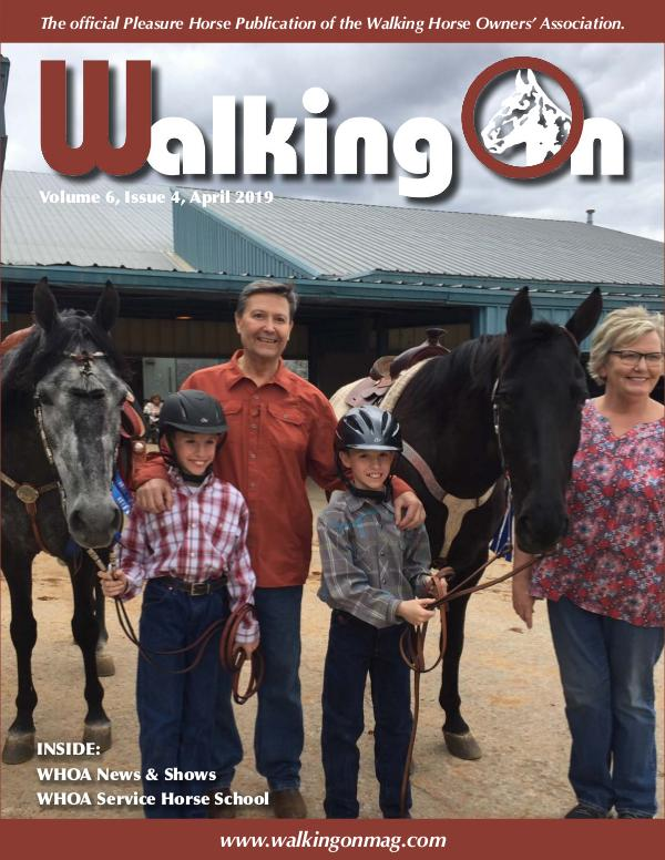 Walking On Volume 6, Issue 4, April 2019