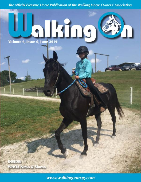 Walking On Volume 6, Issue 6, June 2019