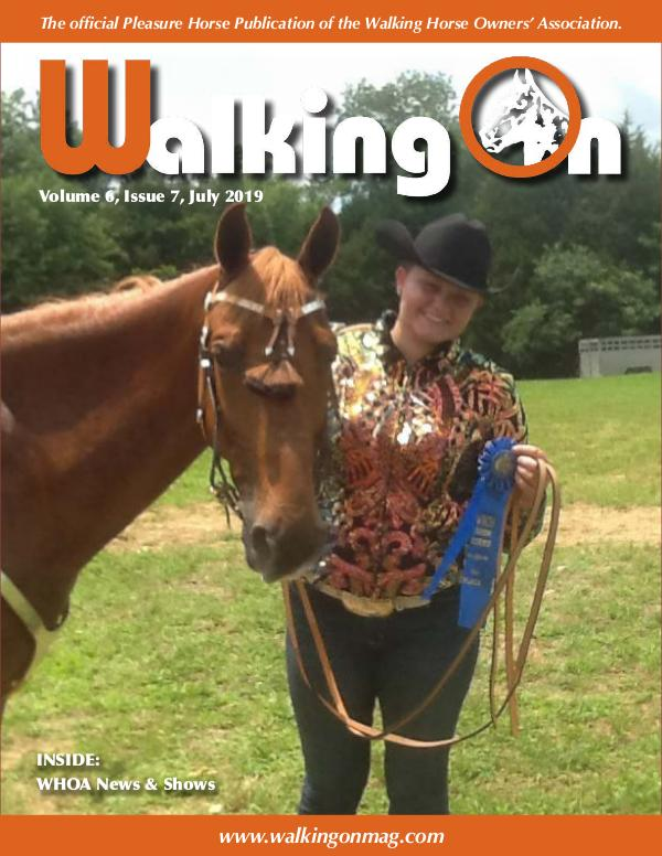 Walking On Volume 6, Issue 7, July 2019