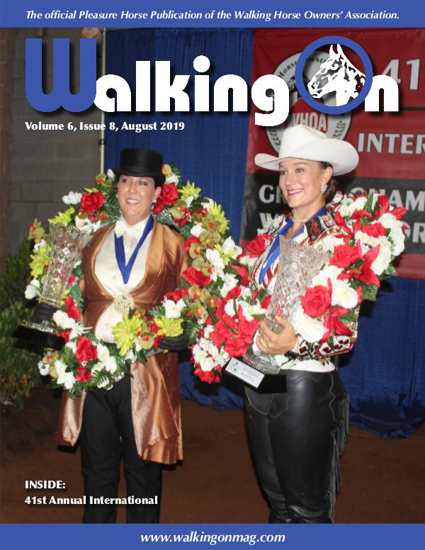 Walking On Volume 6, Issue 8, August 2019