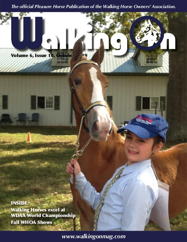Walking On Volume 6, Issue 10, October 2019